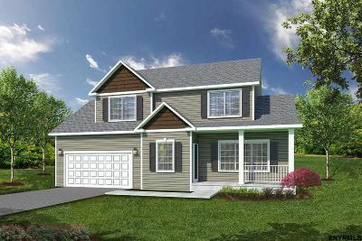 Saratoga County Single Family Home New: 003 Kelley Farms Rd