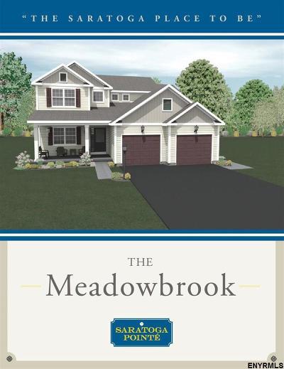 Saratoga County Single Family Home New: 12 Woodlake Dr