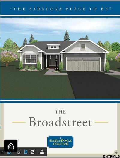 Saratoga County Single Family Home New: 33 Lakepointe Way