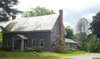 Rensselaer County Single Family Home For Sale: 22300 State Route 22
