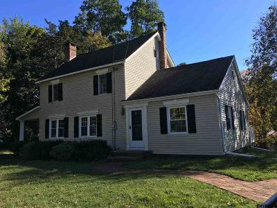 New Scotland Single Family Home For Sale: 2041 Delaware Turnpike