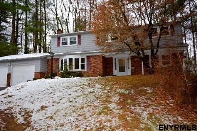 Clifton Park Single Family Home For Sale: 10 Wood Dale Dr