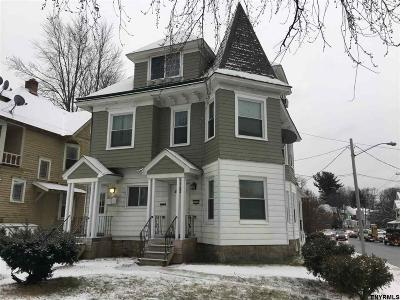Schenectady Multi Family Home For Sale: 1402 Union St