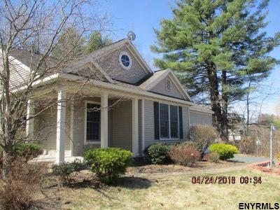 Clifton Park Single Family Home For Sale: 1a Temple Hills