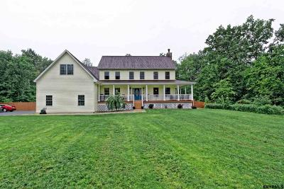Saratoga County Single Family Home For Sale: 603 Sweetman Rd
