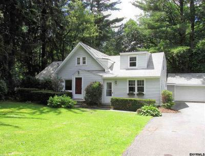Niskayuna Single Family Home Price Change: 1073 Winne Rd