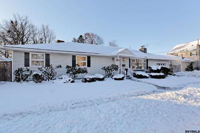 Saratoga Springs Single Family Home For Sale: 42 West Circular St