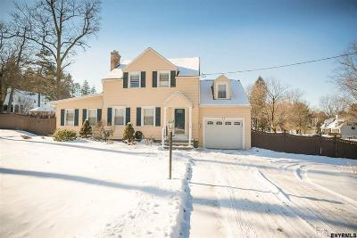 Colonie NY Single Family Home Pend (Under Cntr): $289,000