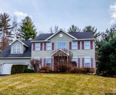 Clifton Park Single Family Home For Sale: 60 Longwood Dr