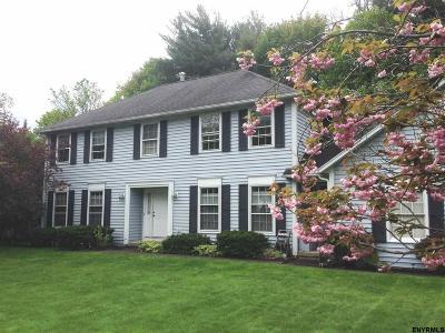Niskayuna Single Family Home For Sale: 1024 Shannon Blvd