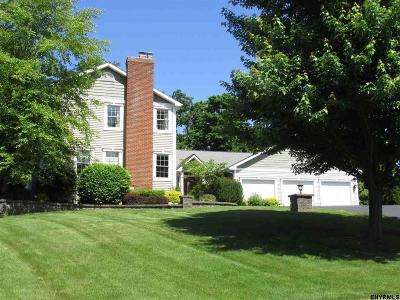 Niskayuna Single Family Home For Sale: 1444 Fox Hollow Rd