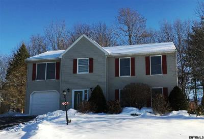 Ballston Spa Single Family Home For Sale: 604 Minuteman La