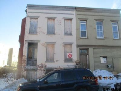 Albany NY Multi Family Home For Sale: $9,900