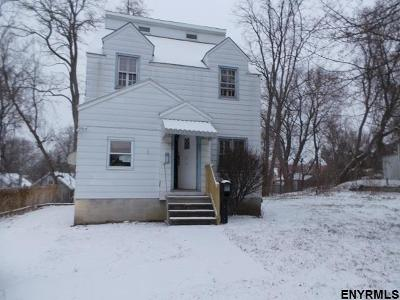 Schenectady Single Family Home For Sale: 6 School St