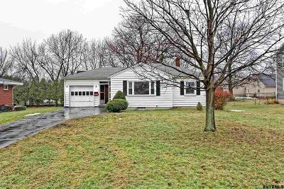 Cohoes Single Family Home Back On Market: 26 Sunset Ct
