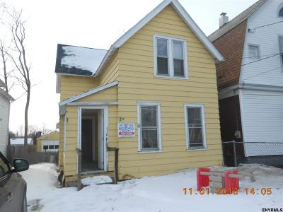 Schenectady Single Family Home For Sale: 116 Odell St