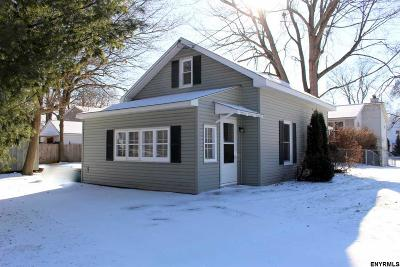 Schenectady Single Family Home For Sale: 1803 Nott St