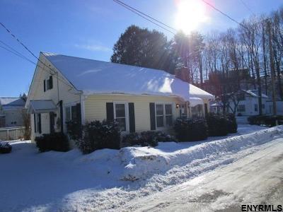 Saratoga County Single Family Home For Sale: 42 Hamilton Av