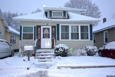 Schenectady Single Family Home For Sale: 1529 Rutgers St