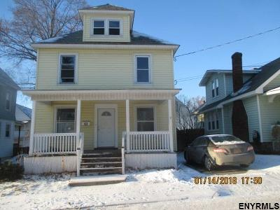 Schenectady Single Family Home For Sale: 63 Spruce St