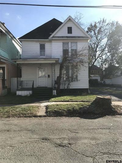 Schenectady Single Family Home For Sale: 86 Linden St