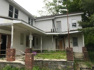 Rensselaer Single Family Home For Sale: 4896 Potter Hollow Rd