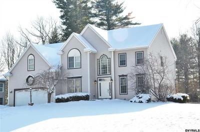 Halfmoon Single Family Home For Sale: 46 Spice Mill Blvd