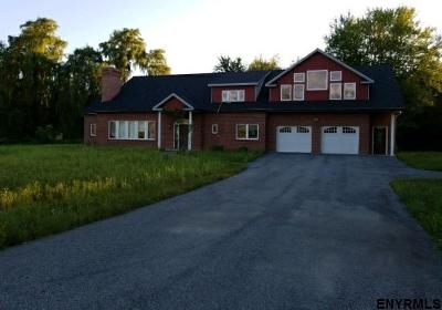 Saratoga County Single Family Home For Sale: 1633 West River Rd