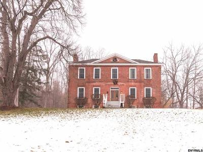 Rensselaer County Single Family Home For Sale: 1194 River Rd