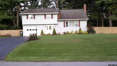 Ballston Spa Single Family Home Price Change: 13 Dublin Dr