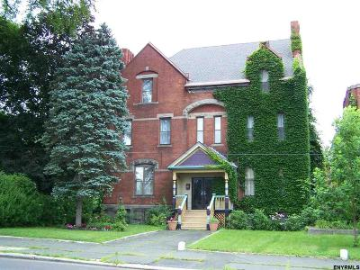 Cohoes Single Family Home For Sale: 48 Johnston Av