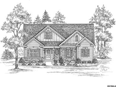 Saratoga County Single Family Home For Sale: Lot 9 Emerald Terr