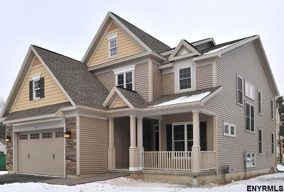 Clifton Park Single Family Home For Sale: Lot 5 Emerald Terr