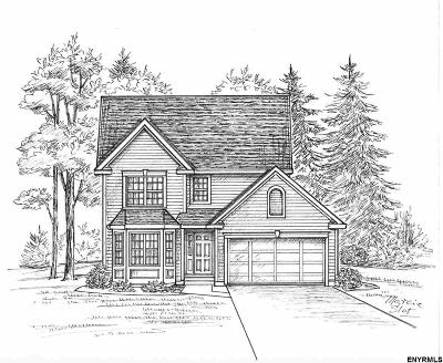 Saratoga County Single Family Home For Sale: Lot 2 Emerald Terr
