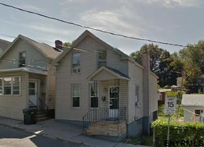 Cohoes Single Family Home For Sale: 14 James St