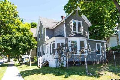 Rensselaer Single Family Home Price Change: 80 Washington Av
