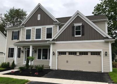 Saratoga Springs NY Single Family Home For Sale: $609,983