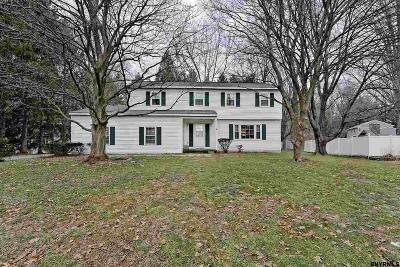 Guilderland Single Family Home For Sale: 7 Hiawatha Dr