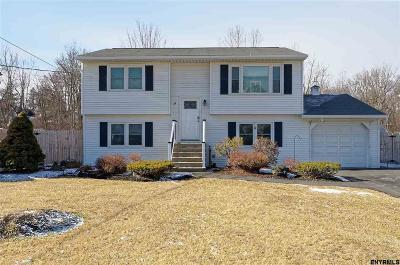 Colonie Single Family Home For Sale: 24 Scully Av