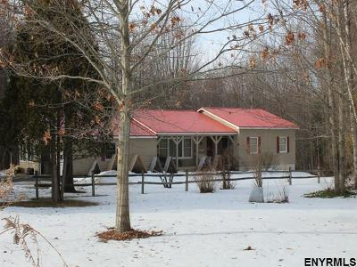 Broadalbin Single Family Home For Sale: 653 County Highway 110