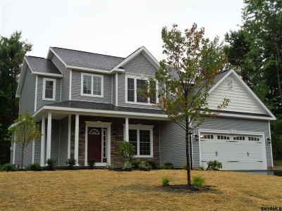 Rensselaer County Single Family Home For Sale: Lot 50 Haywood Ln