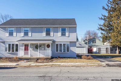 Cohoes Single Family Home For Sale: 26 Bevan St