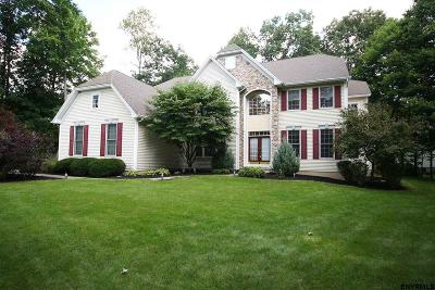 Clifton Park Single Family Home For Sale: 1 Cheshire Ridge
