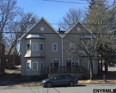 Schenectady County Multi Family Home For Sale: 606 Huron St