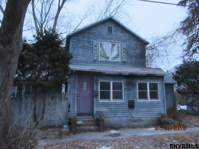 Saratoga Springs NY Single Family Home For Sale: $139,900