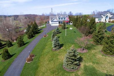 Rensselaer County Single Family Home For Sale: 3 Sandcherry Hill La
