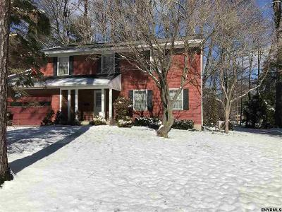 Bethlehem Single Family Home For Sale: 43 Fairway Av
