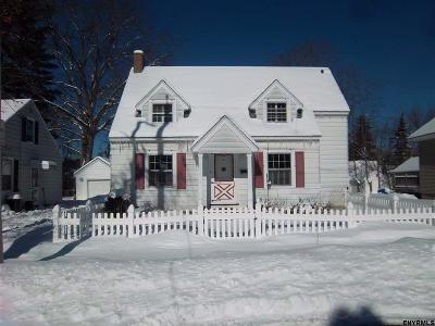 Gloversville NY Single Family Home For Sale: $42,000