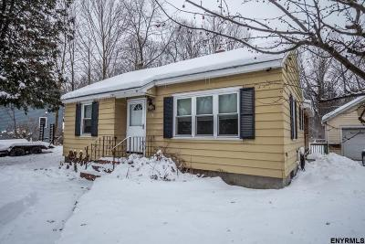 Saratoga County Single Family Home For Sale: 244 Ferry Blvd