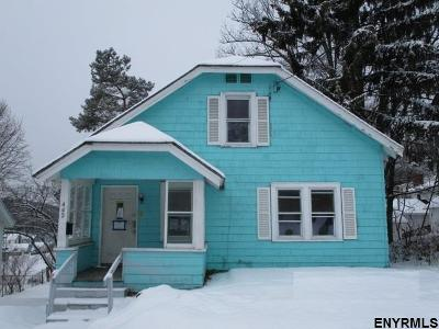 Gloversville NY Single Family Home For Sale: $33,000